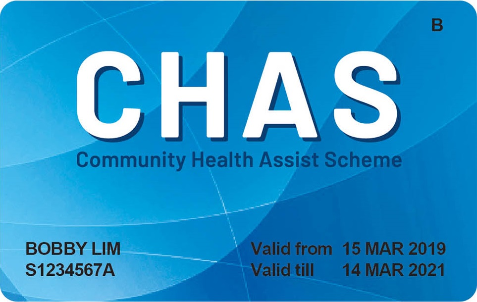 Blue CHAS Card