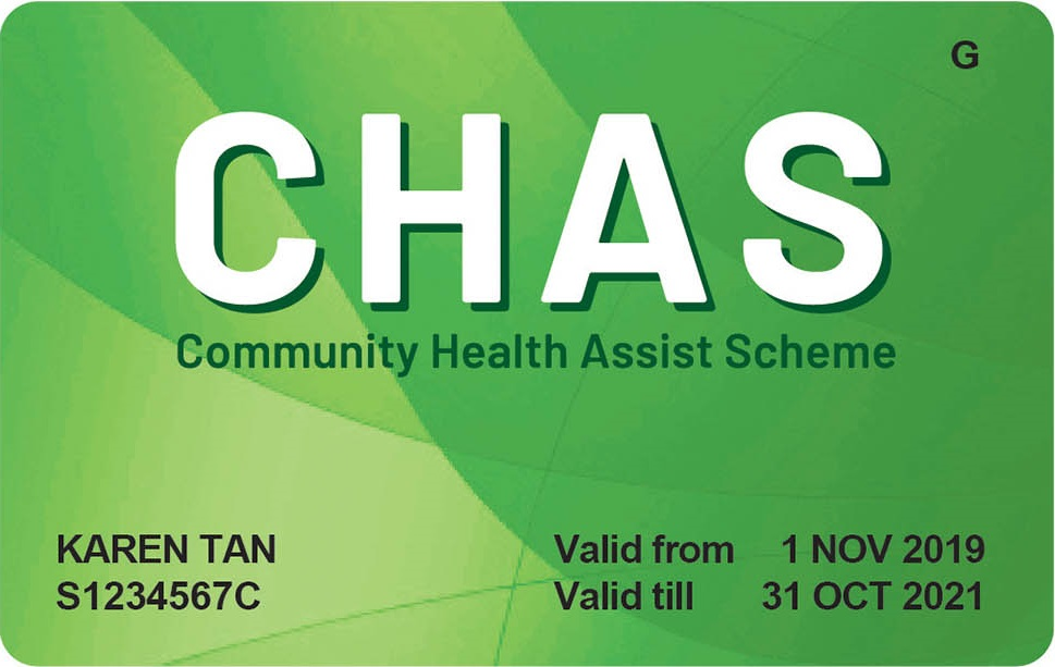 Green CHAS Card