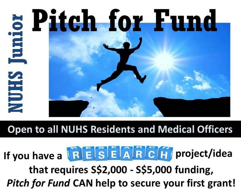 Junior Pitch for Funds